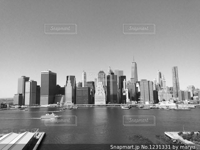 ニューヨークの街並みの写真・画像素材[1231331]