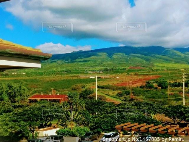 マウイ島の秋の風景の写真・画像素材[1467885]