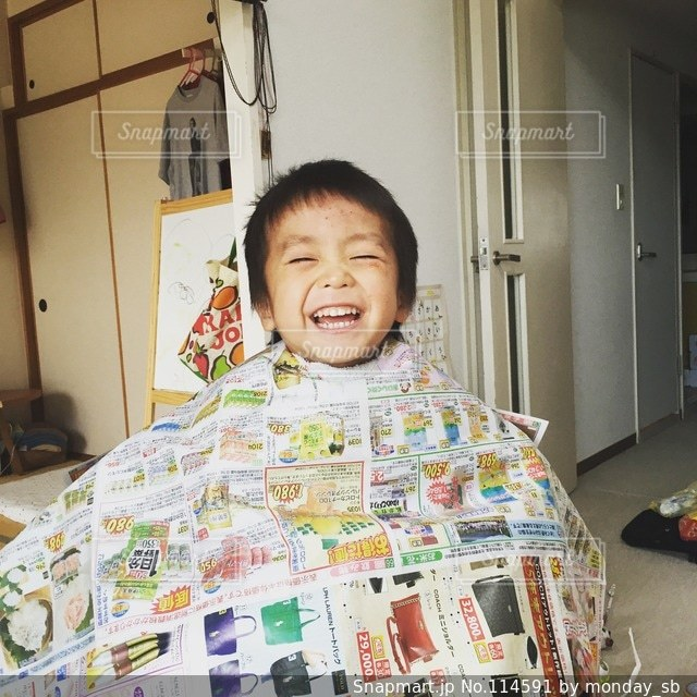 子どもの写真・画像素材[114591]