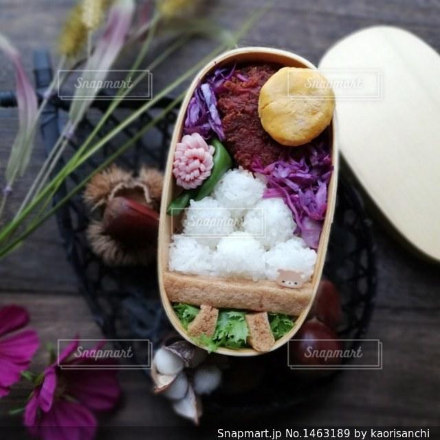 食欲の秋 中秋の名月弁当の写真・画像素材[1463189]