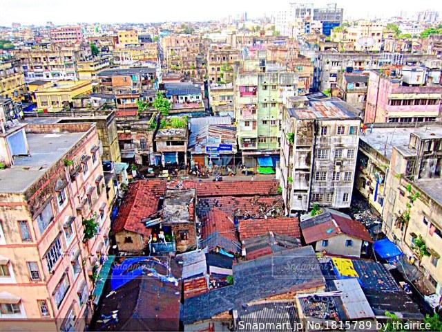 インド コルカタの街並みの写真・画像素材[1815789]