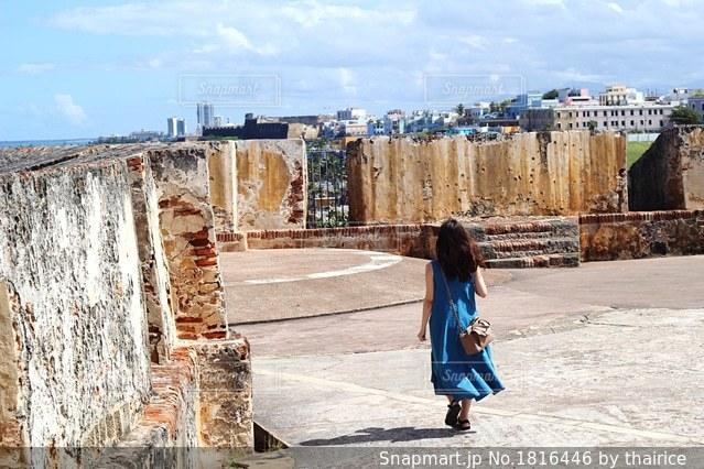 プエルトリコ エルモロ要塞の写真・画像素材[1816446]