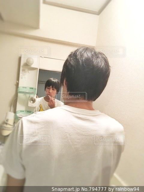 歯磨きタイムの写真・画像素材[794777]
