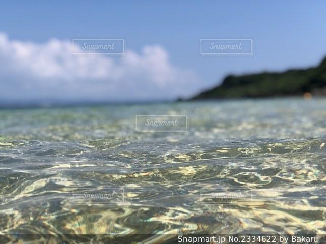 水面の写真・画像素材[2334622]