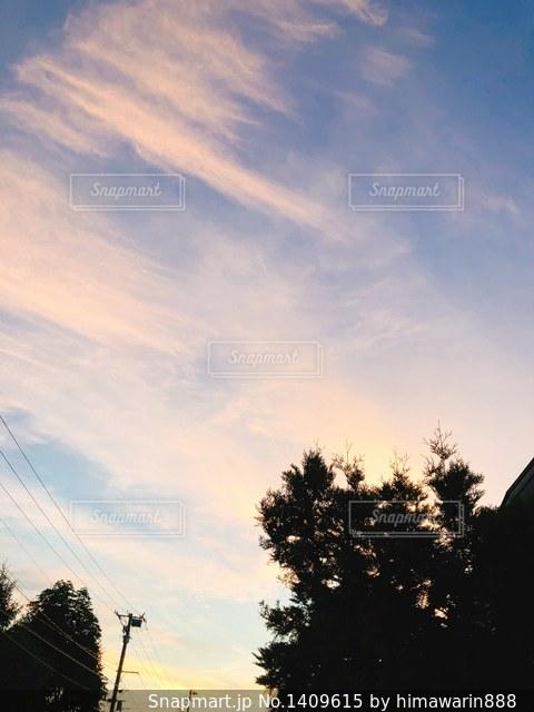 青い空の写真・画像素材[1409615]