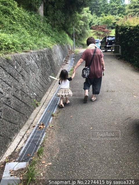 お散歩日和の写真・画像素材[2274415]