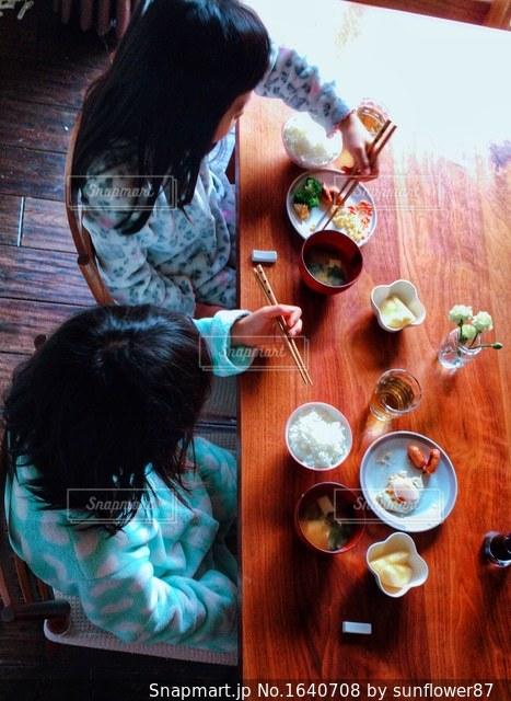 朝ごはんの写真・画像素材[1640708]