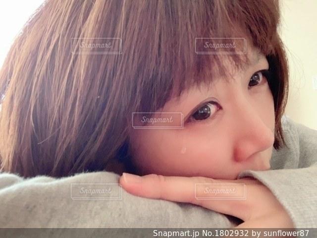 泣くの写真・画像素材[1802932]