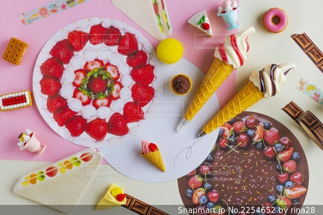 ケーキの写真・画像素材[2254652]