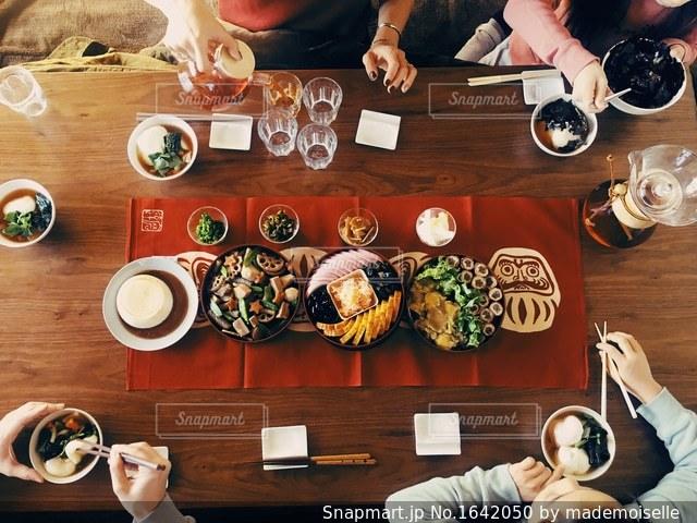 元旦の食卓の写真・画像素材[1642050]