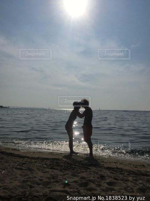 熱い夏の恋の写真・画像素材[1838523]