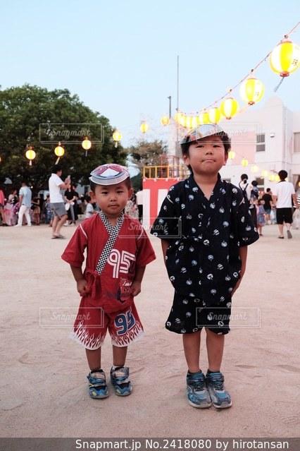 夏祭りの写真・画像素材[2418080]