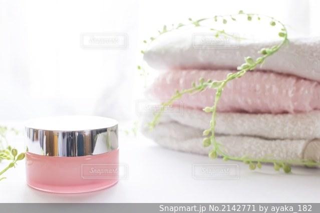 肌保湿クリームの写真・画像素材[2142771]