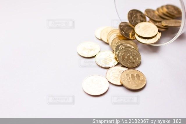 五百円玉貯金の写真・画像素材[2182367]