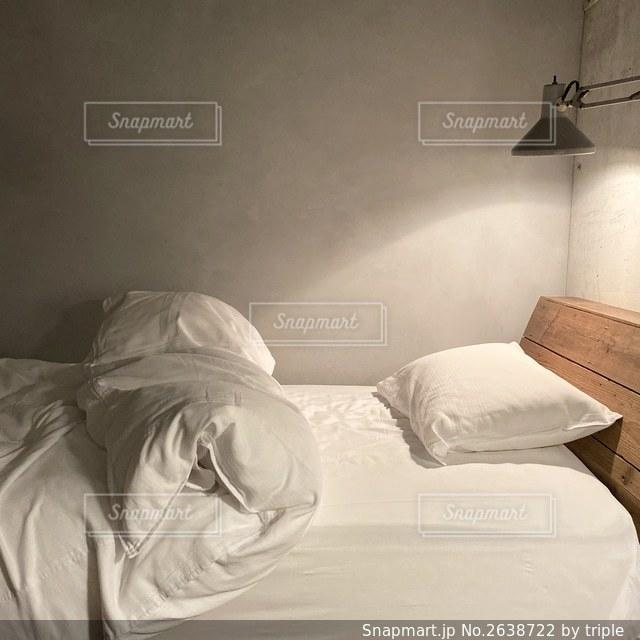 ベッドルームの写真・画像素材[2638722]
