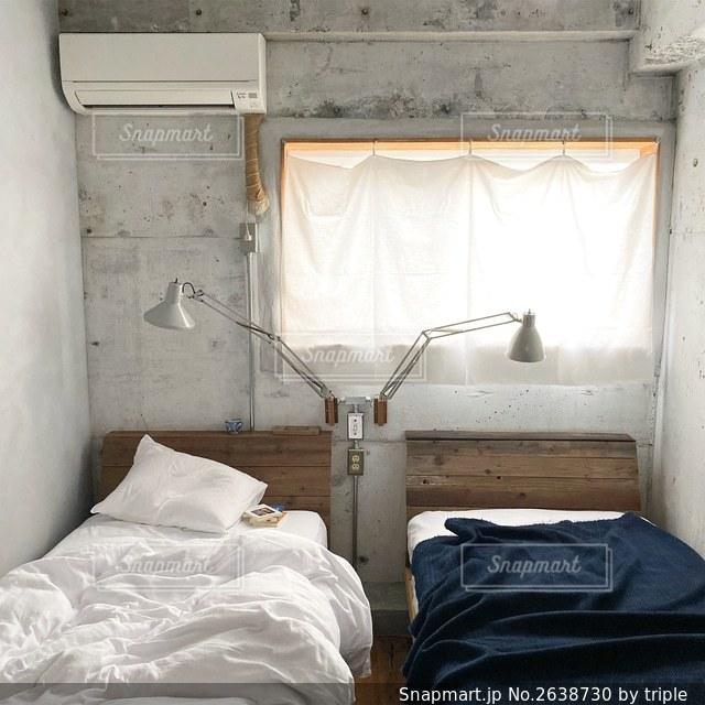 ベッドルームの写真・画像素材[2638730]