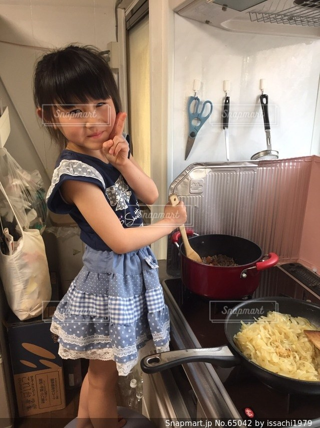 キッチンの写真・画像素材[65042]