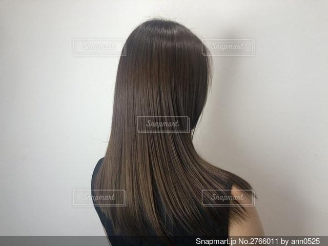 髪の写真・画像素材[2766011]