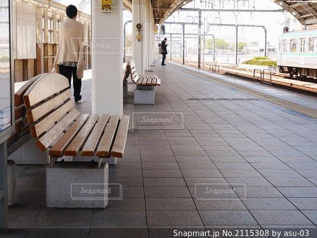 駅の光景の写真・画像素材[2115308]