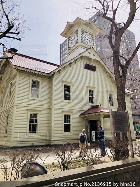 札幌時計台の写真・画像素材[2136915]