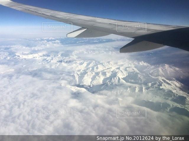 機内からの眺めの写真・画像素材[2012624]