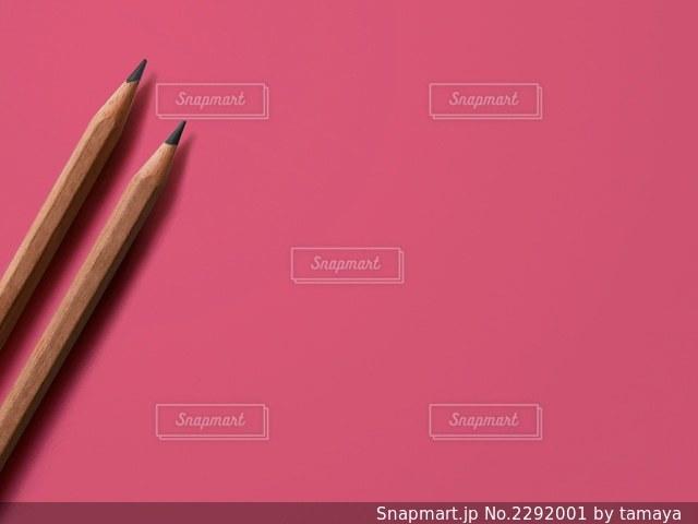2本の鉛筆の写真・画像素材[2292001]
