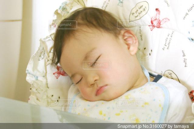 赤ちゃんの寝顔9の写真 画像素材 Snapmart スナップマート