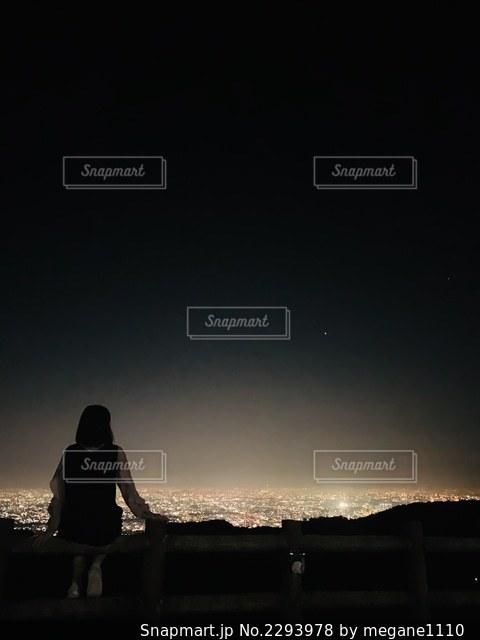 夜景を見下ろすの写真・画像素材[2293978]