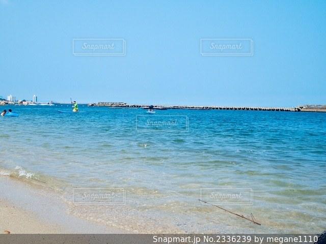 青い海と空🏖の写真・画像素材[2336239]