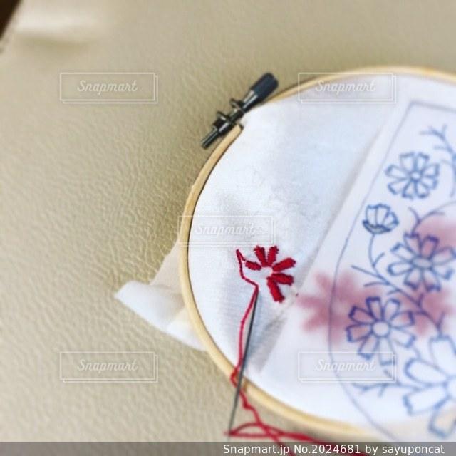 刺繍の写真・画像素材[2024681]