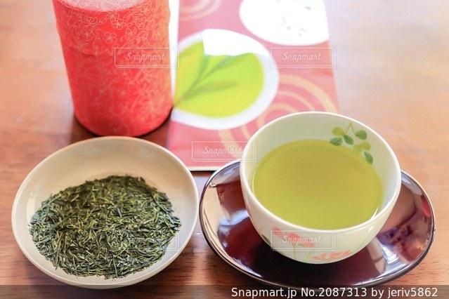 新茶の写真・画像素材[2087313]