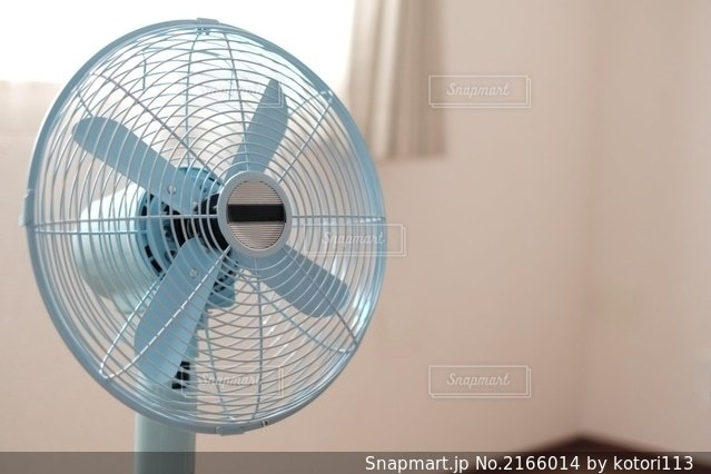 扇風機の写真・画像素材[2166014]