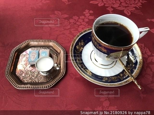 アンティークなカフェの写真・画像素材[2180926]