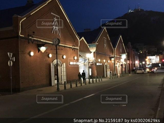 函館 赤煉瓦倉庫の写真・画像素材[2159187]