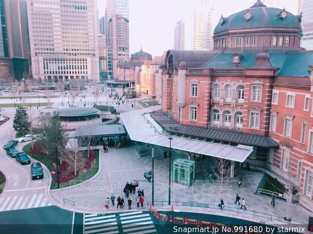 東京駅の写真・画像素材[991680]