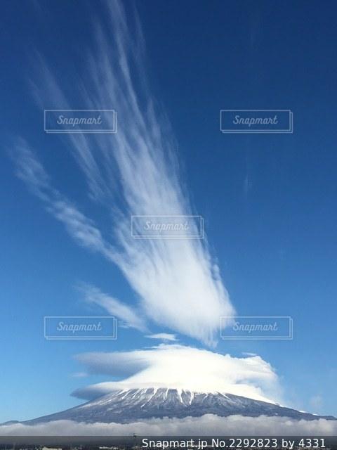 風と雲のいたずらの写真・画像素材[2292823]