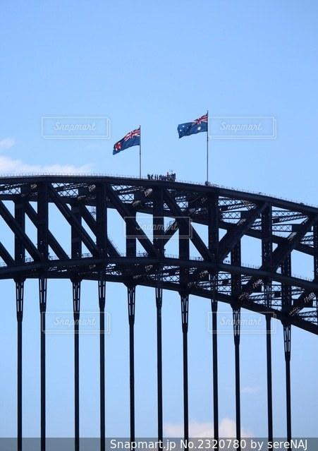 シドニーのハーバーブリッジの写真・画像素材[2320780]