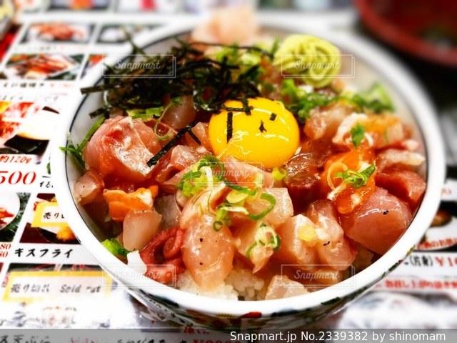 海鮮丼の写真・画像素材[2339382]
