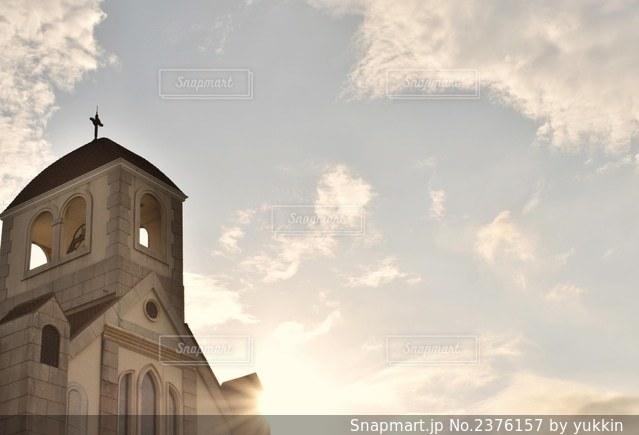 教会の写真・画像素材[2376157]