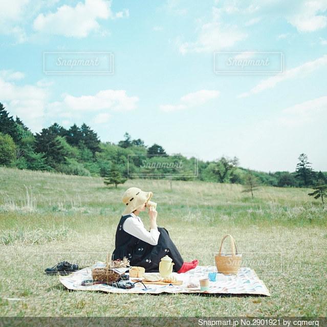 ピクニックの写真・画像素材[2901921]