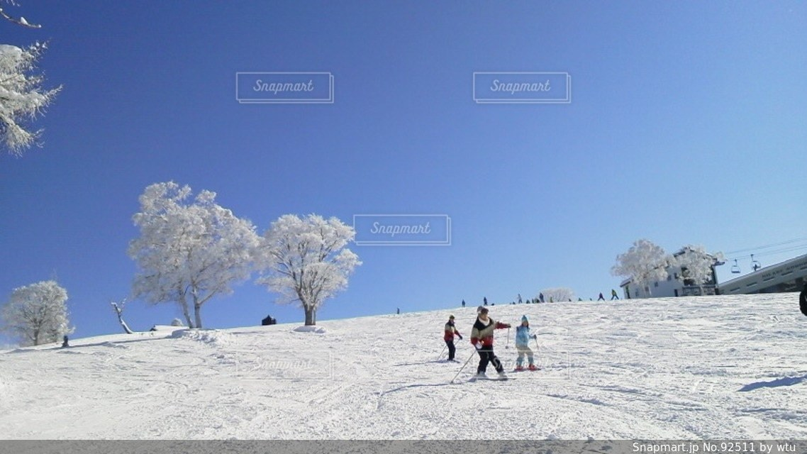雪の写真・画像素材[92511]