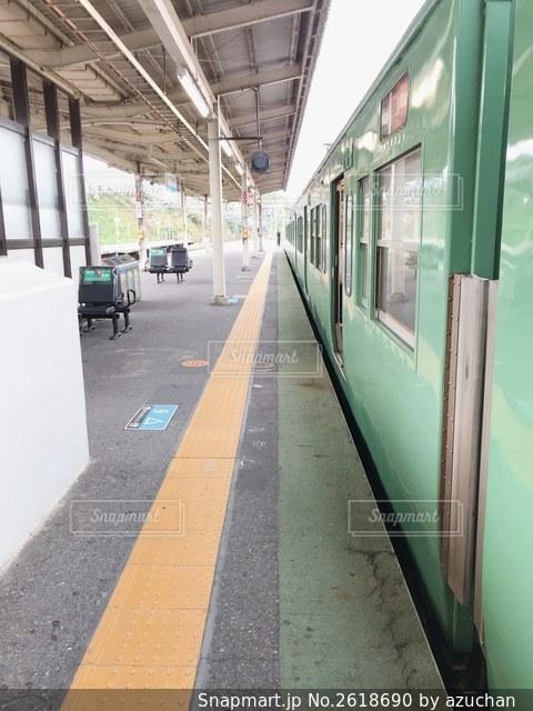 駅のホームの写真・画像素材[2618690]