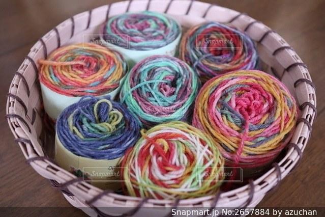毛糸の写真・画像素材[2657884]