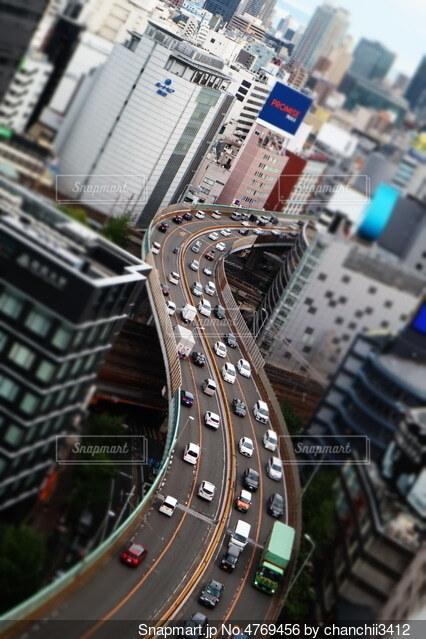 車 渋滞かの写真・画像素材[4769456]