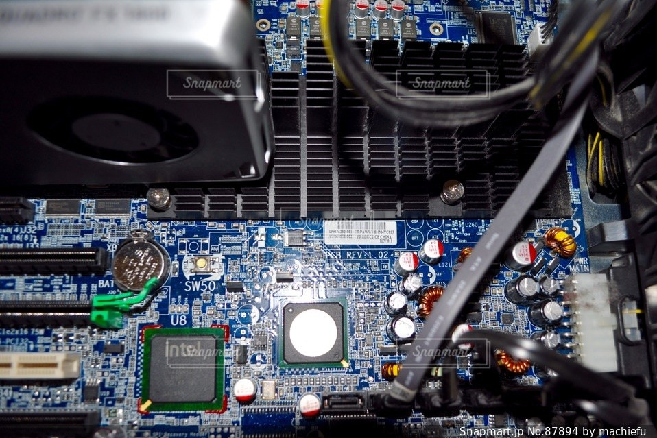 パソコンの写真・画像素材[87894]