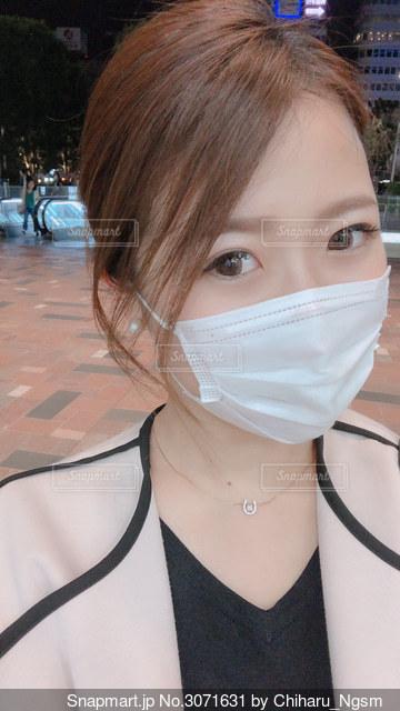 マスクの写真・画像素材[3071631]