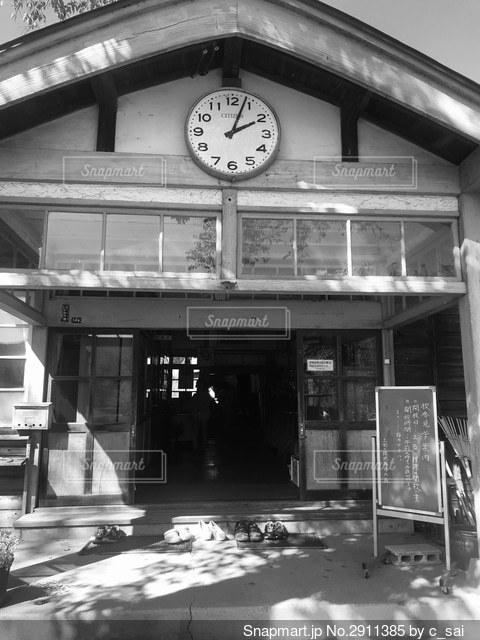 旧上岡小学校の写真・画像素材[2911385]