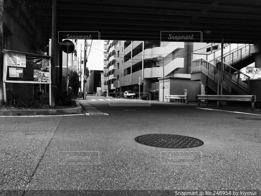 道路の写真・画像素材[248954]