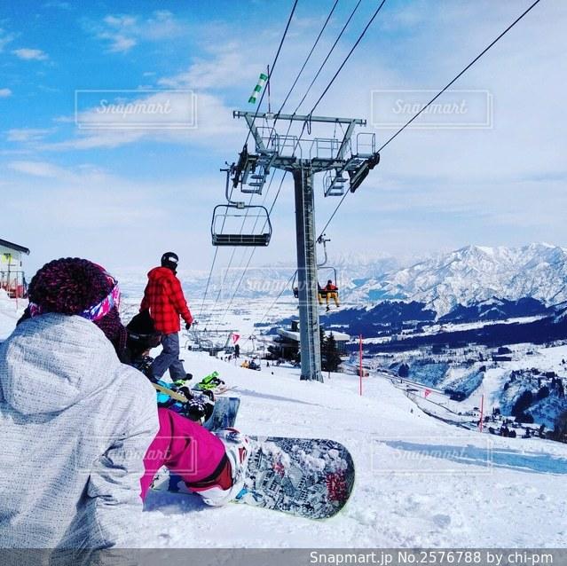 新潟スキー場の写真・画像素材[2576788]