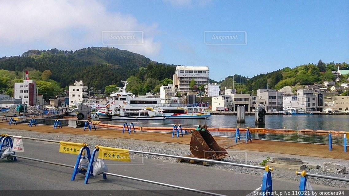 港の写真・画像素材[110321]